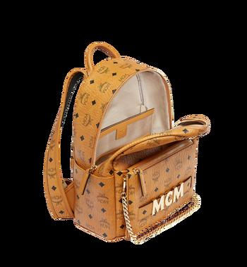 MCM Trilogie Stark Backpack in Visetos Alternate View 7