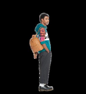 MCM Trilogie Stark Backpack in Visetos Alternate View 9