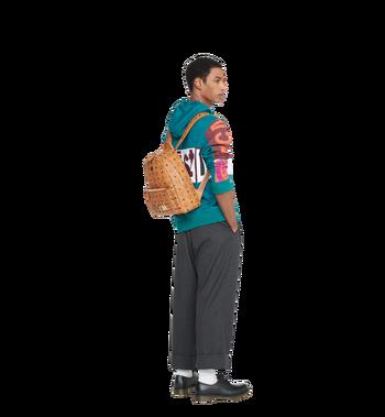 MCM Trilogie Stark Backpack in Visetos Alternate View 10