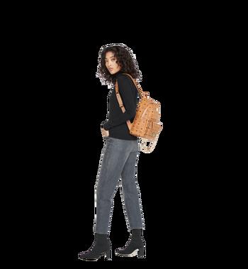 MCM Trilogie Stark Backpack in Visetos Alternate View 11