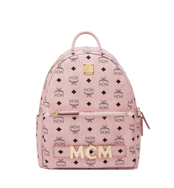 MCM Trilogie Stark Backpack in Visetos MMK8AVE83PZ001 AlternateView