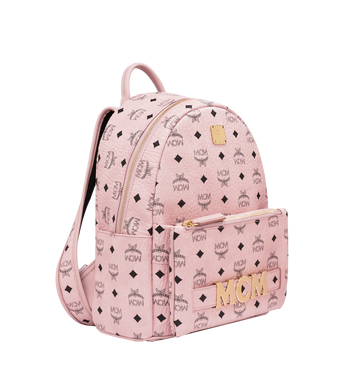 MCM Trilogie Stark Backpack in Visetos MMK8AVE83PZ001 AlternateView2