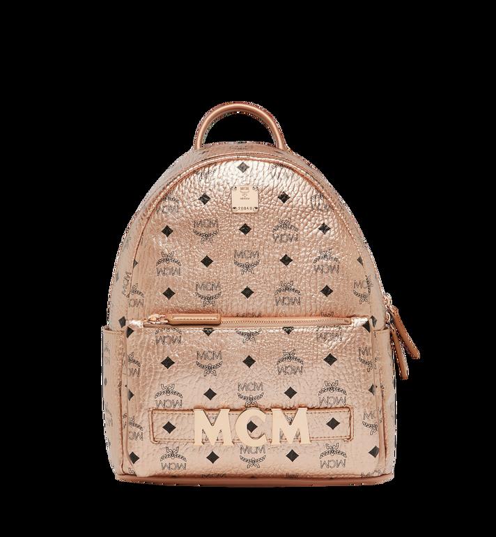 MCM Trilogie Stark Backpack in Visetos MMK8AVE87TC001 AlternateView