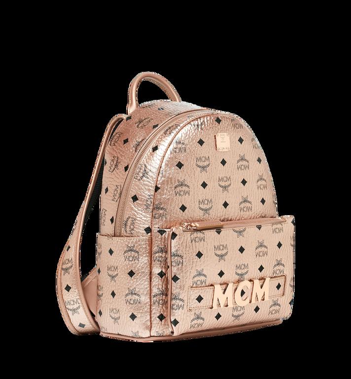 MCM Trilogie Stark Backpack in Visetos MMK8AVE87TC001 AlternateView2