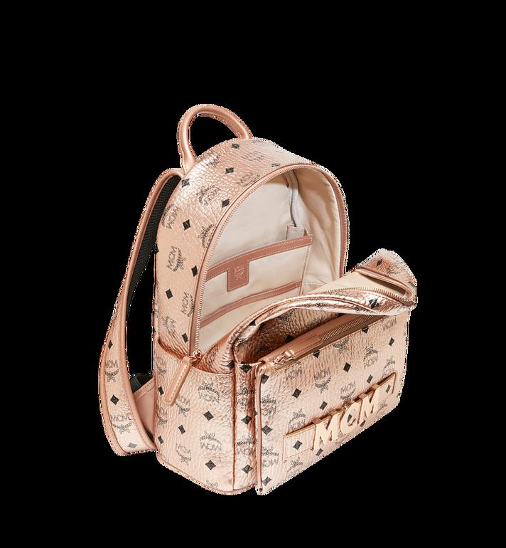 MCM Trilogie Stark Backpack in Visetos MMK8AVE87TC001 AlternateView7