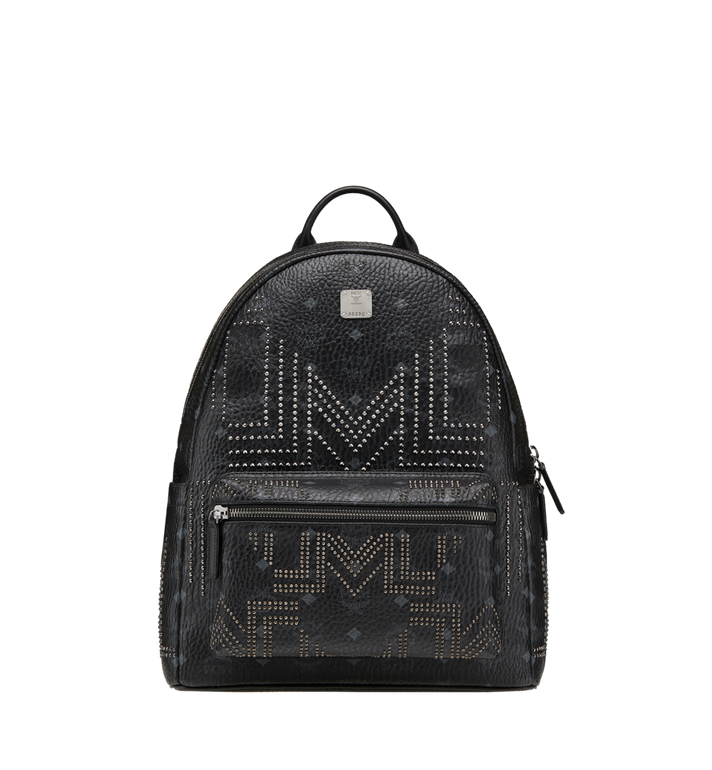 MCM Stark Backpack in Gunta M Studs Visetos MMK8AVE89BK001 AlternateView