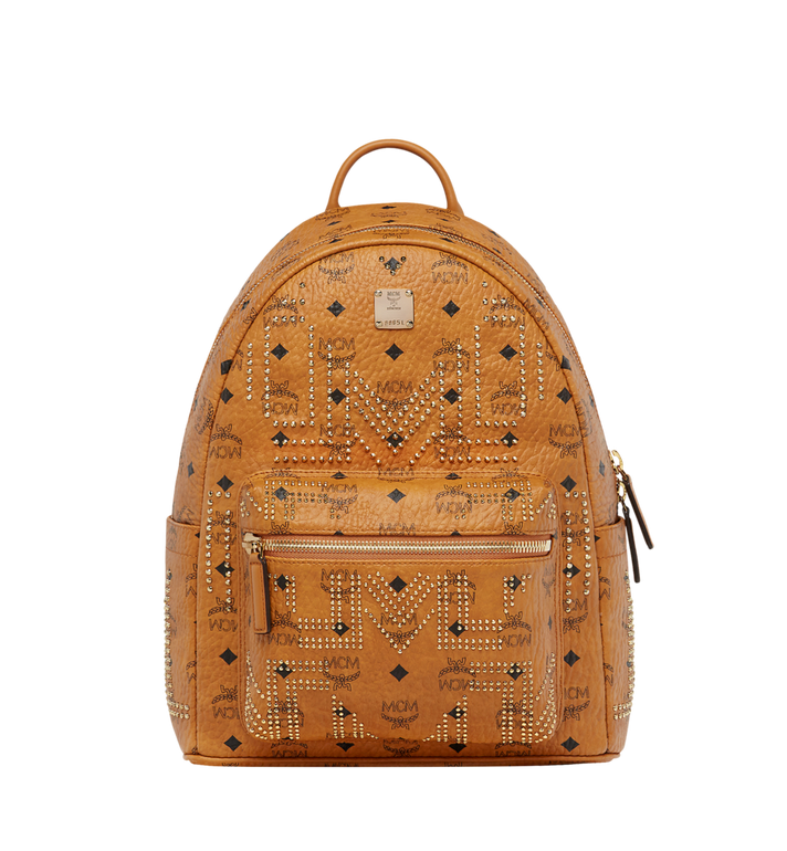 MCM Stark Backpack in Gunta M Studs Visetos MMK8AVE89CO001 AlternateView