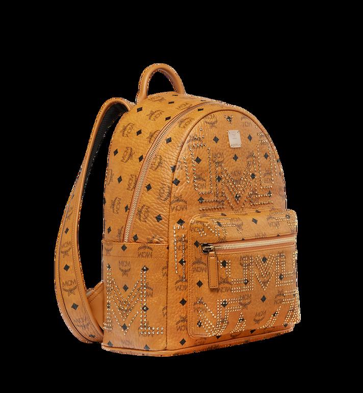 MCM Stark Backpack in Gunta M Studs Visetos MMK8AVE89CO001 AlternateView2