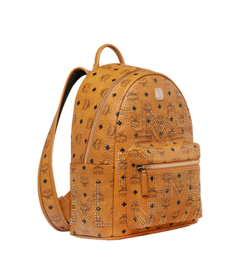 MCM Stark Backpack in Gunta M Studs Visetos MMK8AVE89CO001 AlternateView2