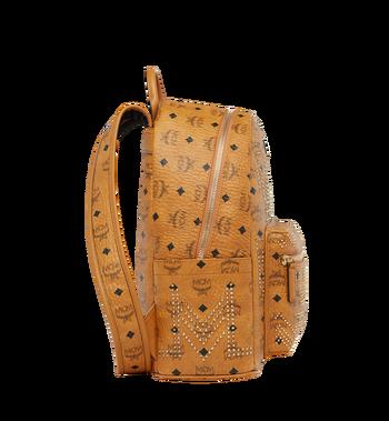 MCM Stark Backpack in Gunta M Studs Visetos Alternate View 3