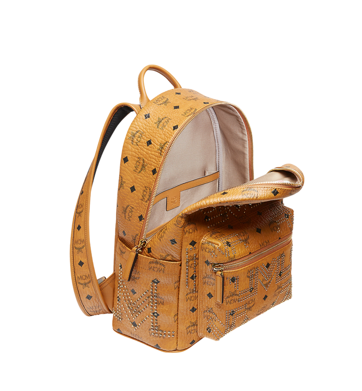 MCM Stark Backpack in Gunta M Studs Visetos MMK8AVE89CO001 AlternateView5