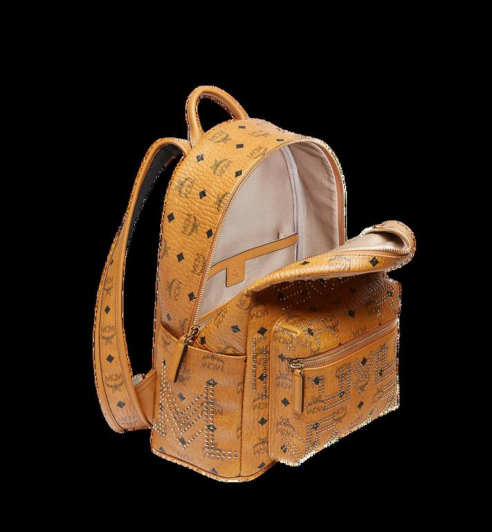 MCM Stark Backpack in Gunta M Studs Visetos MMK8AVE89CO001 AlternateView5
