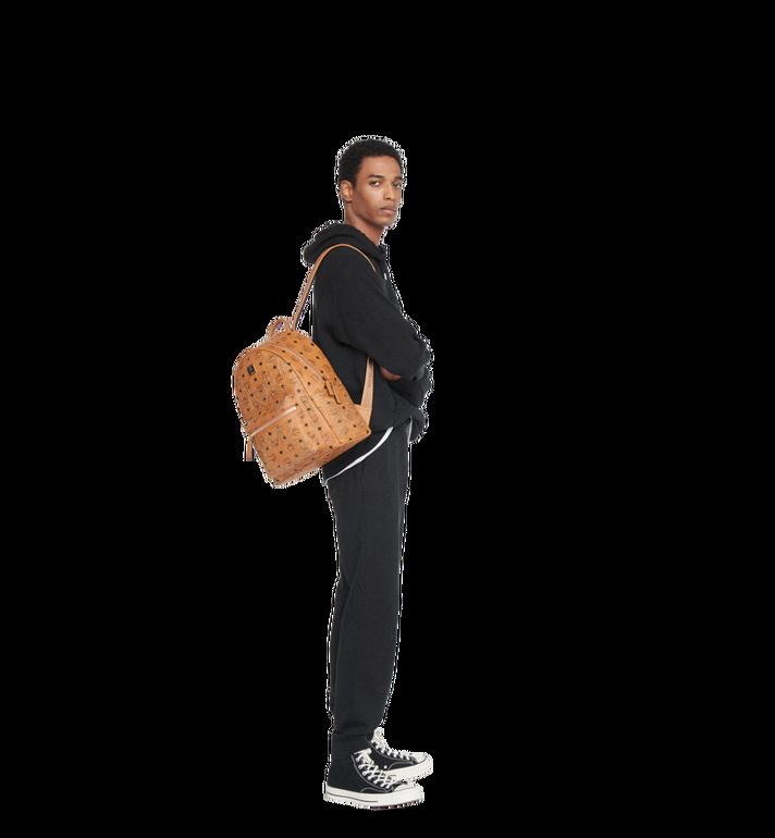 MCM Stark Backpack in Gunta M Studs Visetos MMK8AVE89CO001 AlternateView6