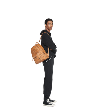 MCM Stark Backpack in Gunta M Studs Visetos Alternate View 6