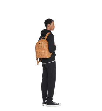 MCM Stark Backpack in Gunta M Studs Visetos MMK8AVE89CO001 AlternateView7