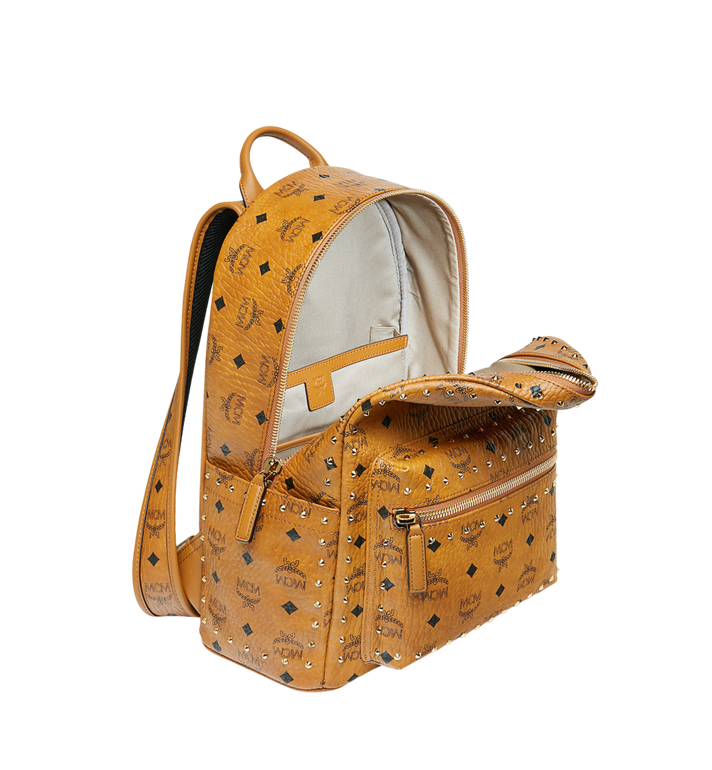 MCM Stark Backpack in Studded Outline Visetos Alternate View 5