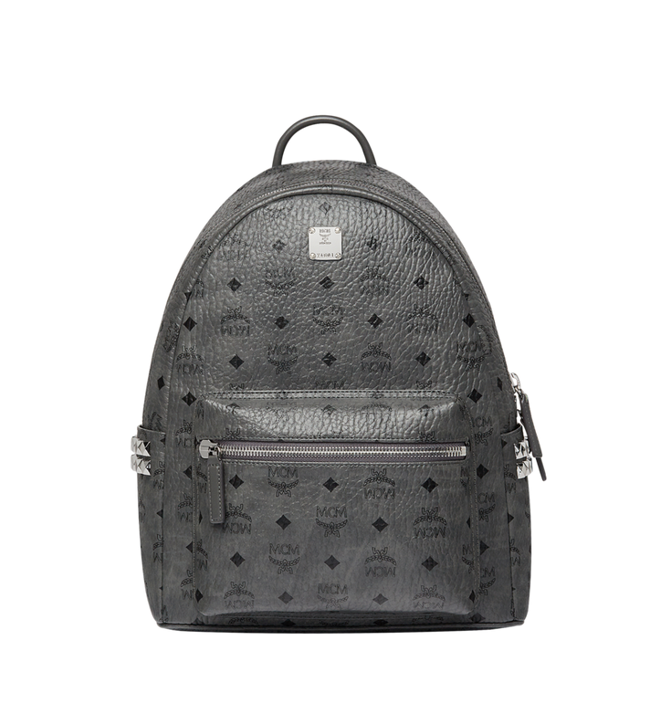 MCM Stark Side Studs Backpack in Visetos Alternate View 1