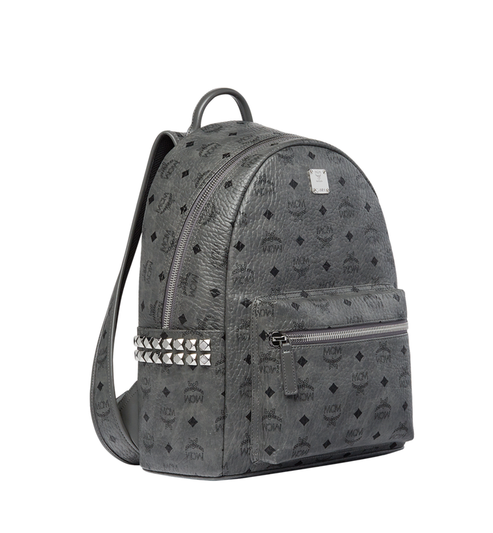 MCM Stark Side Studs Backpack in Visetos MMK8AVE99EP001 AlternateView2