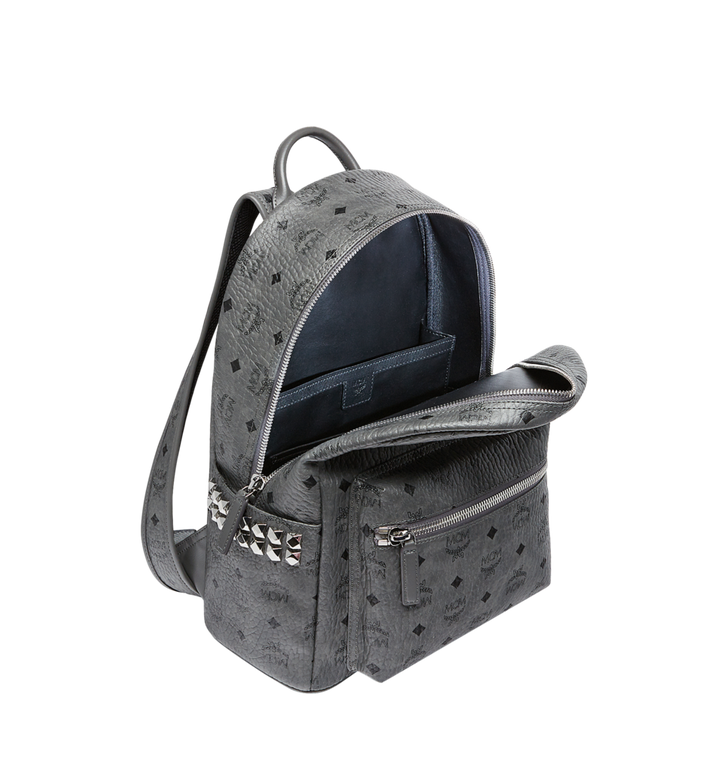 MCM Stark Side Studs Backpack in Visetos MMK8AVE99EP001 AlternateView5