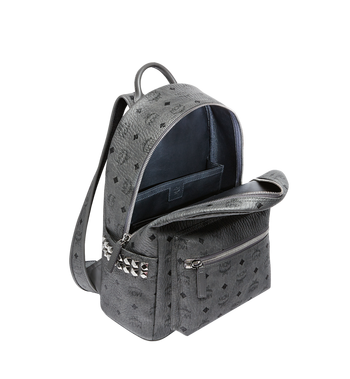 MCM Stark Side Studs Backpack in Visetos Alternate View 5