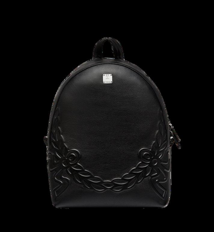 MCM Dietrich Laurel Backpack in Leather MMK8SDI06BK001 AlternateView