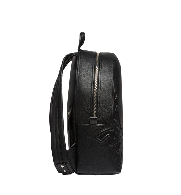 MCM Dietrich Laurel Backpack in Leather MMK8SDI06BK001 AlternateView3