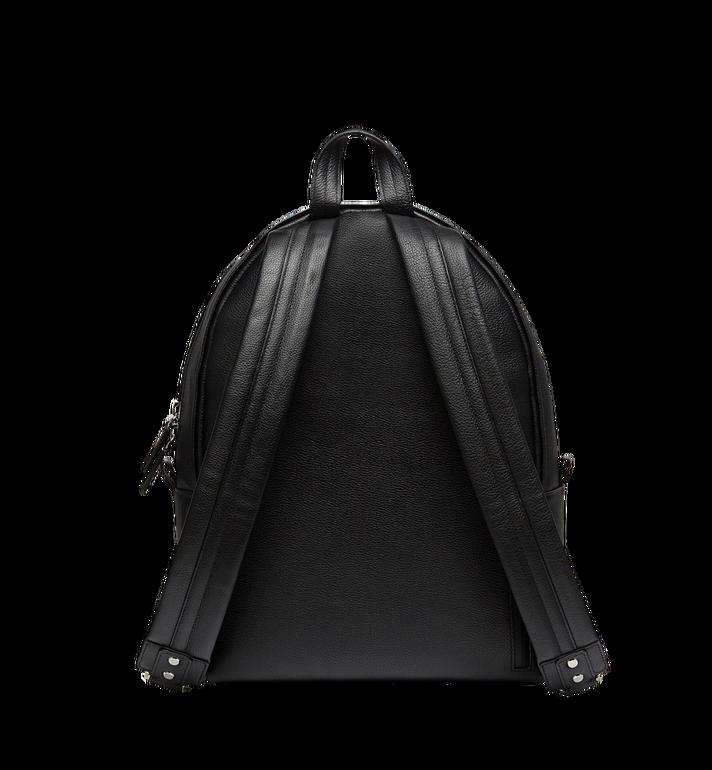 MCM Dietrich Laurel Backpack in Leather MMK8SDI06BK001 AlternateView4