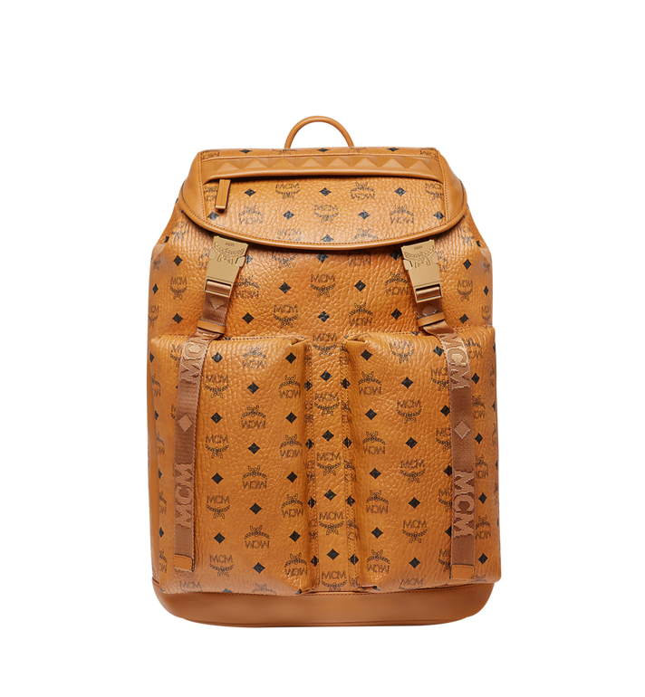 MCM Kreuzberg Backpack in Visetos MMK8SGE01CO001 AlternateView1