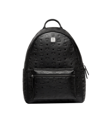 MCM Stark Backpack in Monogram Leather Alternate View 1