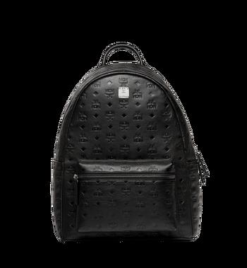 MCM Stark Backpack in Monogram Leather MMK8SOT43BK001 AlternateView