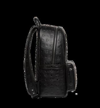 MCM Stark Backpack in Monogram Leather MMK8SOT43BK001 AlternateView3