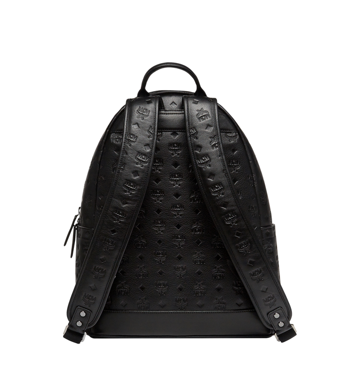 MCM Stark Backpack in Monogram Leather Alternate View 4