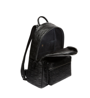 MCM Stark Backpack in Monogram Leather Alternate View 5