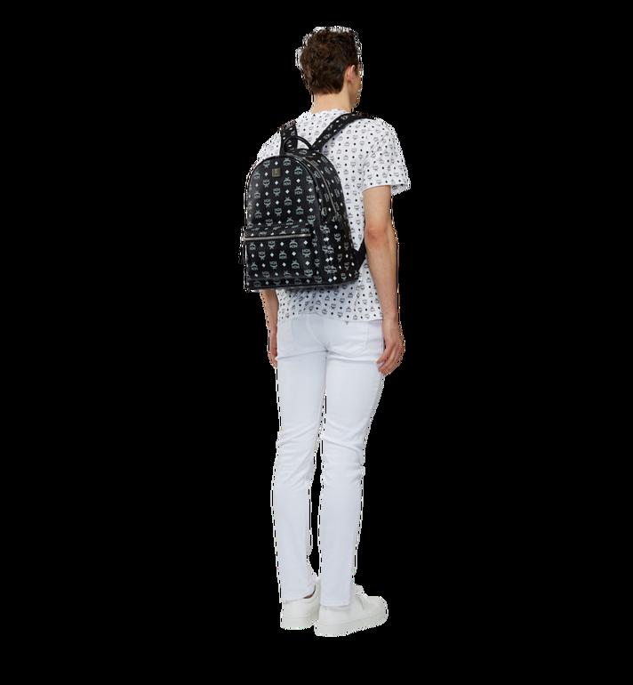 MCM Stark Rucksack in Weiß mit Logo Visetos-Aufdruck Alternate View 6