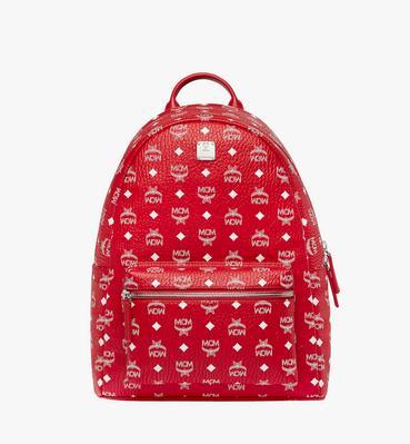 Stark White Logo Backpack in Visetos