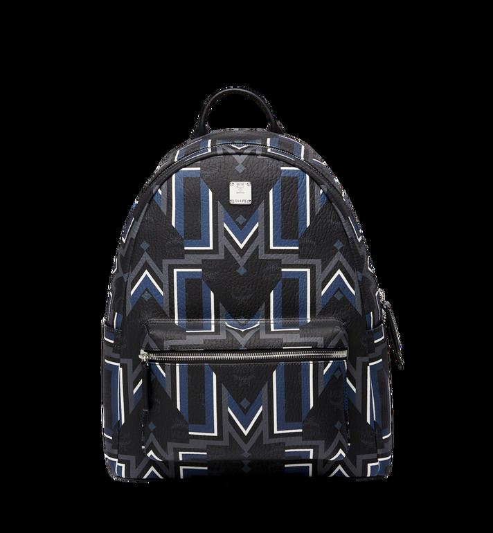 MCM Stark Gunta M Stripe Backpack in Visetos MMK8SVE53BK001 AlternateView