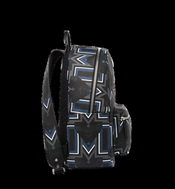 MCM Stark Gunta M Stripe Backpack in Visetos MMK8SVE53BK001 AlternateView3
