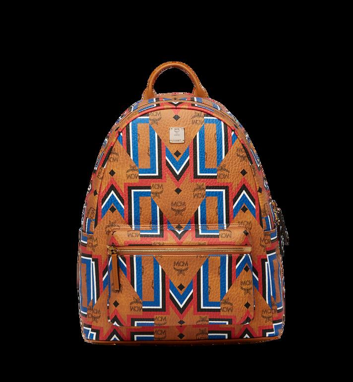 MCM Stark Gunta M Stripe Backpack in Visetos MMK8SVE53CO001 AlternateView
