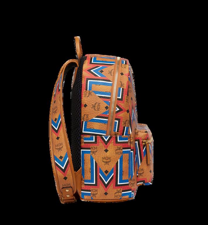 MCM Stark Gunta M Stripe Backpack in Visetos MMK8SVE53CO001 AlternateView3