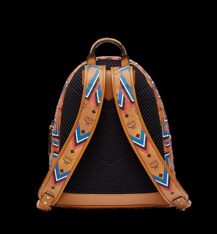 MCM Stark Gunta M Stripe Backpack in Visetos MMK8SVE53CO001 AlternateView4