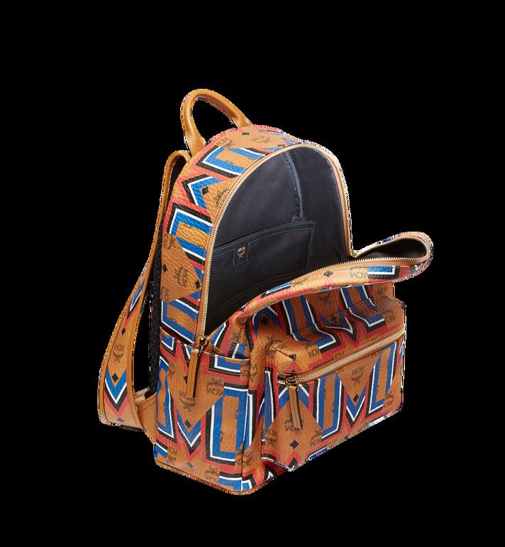 MCM Stark Gunta M Stripe Backpack in Visetos MMK8SVE53CO001 AlternateView5