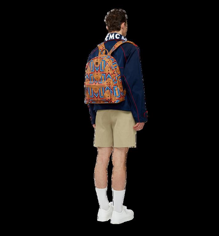 MCM Stark Gunta M Stripe Backpack in Visetos MMK8SVE53CO001 AlternateView6