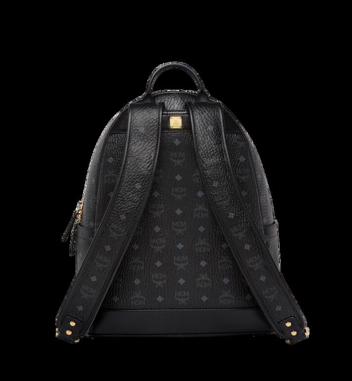 MCM Stark Logo Stripe Backpack in Visetos MMK8SVE82BK001 AlternateView4