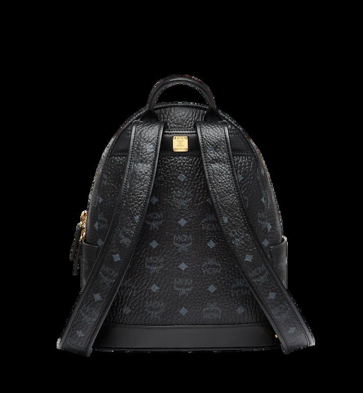 MCM Stark Logo Stripe Backpack in Visetos MMK8SVE84BK001 AlternateView4