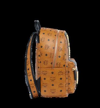 MCM Stark Logo Stripe Backpack in Visetos MMK8SVE84CO001 AlternateView3