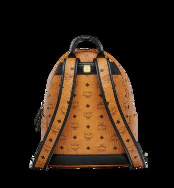MCM Stark Logo Stripe Backpack in Visetos MMK8SVE84CO001 AlternateView4
