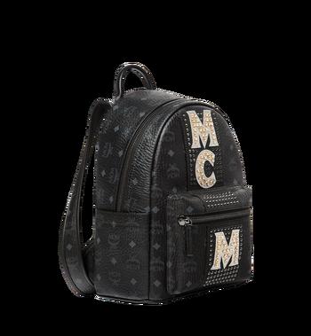 MCM 스타크 스트라이프 크리스탈 비세토스 백팩 MMK8SVE94BK001 AlternateView2