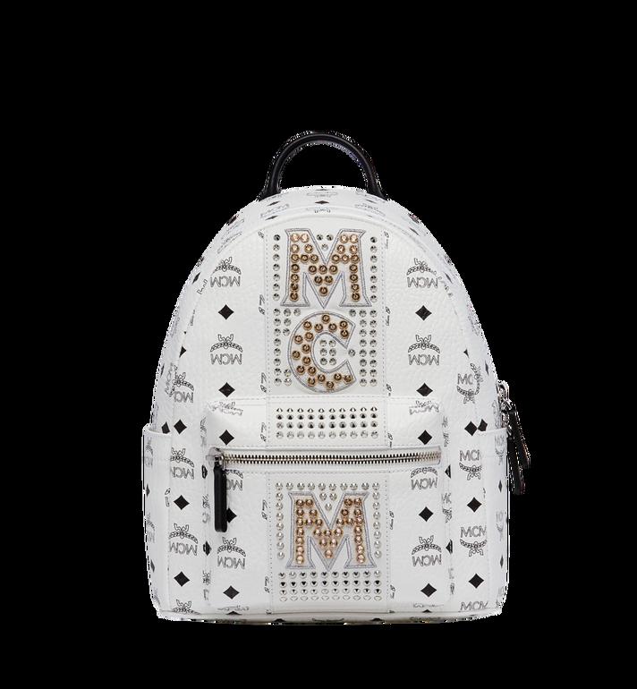 MCM 스타크 스트라이프 크리스탈 비세토스 백팩 MMK8SVE94WT001 AlternateView