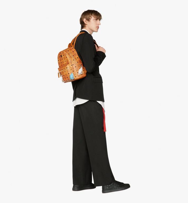 MCM Hide-and-Seek Rabbit Stark Backpack Alternate View 6