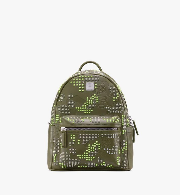 MCM Stark Backpack in Studded Lion Camo Alternate View
